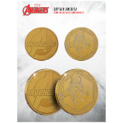 Marvel Captain America Collectable Evergreen Commemorative Coin