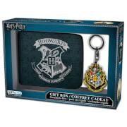 Harry Potter Hogwarts Wallet and Keyring Set