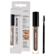 L'Oréal Paris Unbelievabrow Long-Lasting Brow Gel 3.4ml (Various Shades) - 104 Brown