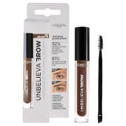 L'Oréal Paris Unbelieva'brow Long-Lasting Brow Gel (Various Shades) - 105 Brunette