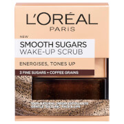Кофейный скраб для лица и губ L'Oréal Paris Smooth Sugar Wake-Up Coffee Face and Lip Scrub 50 мл фото