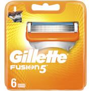 Fusion5 Men's Razor Blades - 6 Count