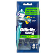 Blue II Plus Slalom Men's Disposable Razors - 8 Count
