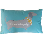 Catherine Lansfield Silly Sausage Dog Cushion - Multi