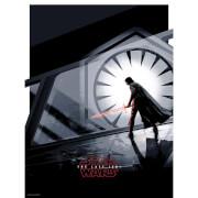 """Star Wars The Last Jedi """"Kylo Ren"""" 18x24 Screenprint by Matt Ferguson"""
