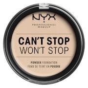 Купить NYX Professional Makeup Can't Stop Won't Stop Powder Foundation (Various Shades) - Fair