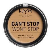 Купить NYX Professional Makeup Can't Stop Won't Stop Powder Foundation (Various Shades) - Beige