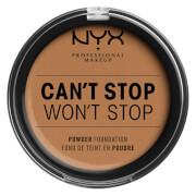 NYX Professional Makeup Can't Stop Won't Stop Powder Foundation (Various Shades) - Natural Tan