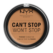NYX Professional Makeup Can't Stop Won't Stop Powder Foundation (Various Shades) - Golden Honey