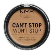 Купить NYX Professional Makeup Can't Stop Won't Stop Powder Foundation (Various Shades) - Caramel
