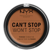 NYX Professional Makeup Can't Stop Won't Stop Powder Foundation (Various Shades) - Warm Caramel