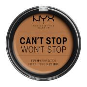 Купить NYX Professional Makeup Can't Stop Won't Stop Powder Foundation (Various Shades) - Warm Honey