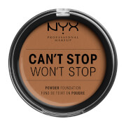 Купить NYX Professional Makeup Can't Stop Won't Stop Powder Foundation (Various Shades) - Mahogany