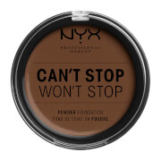 NYX Professional Makeup Can't Stop Won't Stop Powder Foundation (Various Shades) - Deep