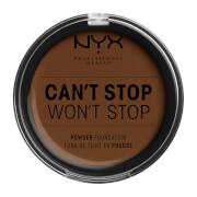 Купить NYX Professional Makeup Can't Stop Won't Stop Powder Foundation (Various Shades) - Walnut