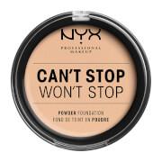NYX Professional Makeup Can't Stop Won't Stop Powder Foundation (Various Shades) - Vanilla