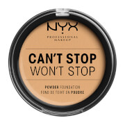Купить NYX Professional Makeup Can't Stop Won't Stop Powder Foundation (Various Shades) - True Beige