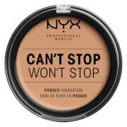 Купить NYX Professional Makeup Can't Stop Won't Stop Powder Foundation (Various Shades) - Medium Olive