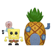 Spongebob Squarepants with Pineapple Pop! Town