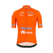Santini Tour Down Under Ochre Leaders Jersey 2019