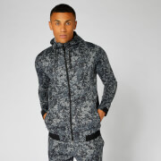 Luxe Lite Hoodie — Carbon Camo
