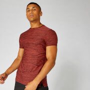 Dry-Tech Infinity T-Shirt — Red Marl