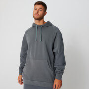 Sweat à capuche délavé - Gris - XL