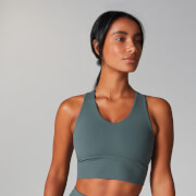 Myprotein Power Longline Sports Bra - Castle Rock