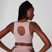 Brassière sans couture Shape Sports - Rose poudré - XS