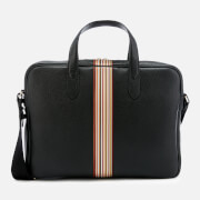 PS Paul Smith Men's Stripe Portfolio - Black