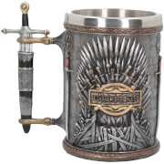 Chope Game of Thrones Trône de Fer en Argent - Exclusivité Zavvi