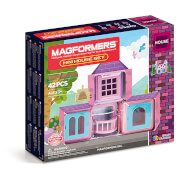 Magformers Mini House Set - 42 Pieces