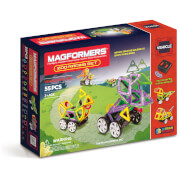 Magformers Zoo Racing Set - 55 Pieces