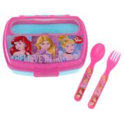 Sandwich Box with Cutlery - Disney Princess
