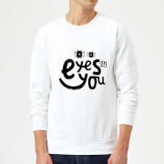 Eyes On You Sweatshirt - White - L - White