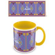 Image of Aladdin (Magic Carpet) Yellow Inner Mug