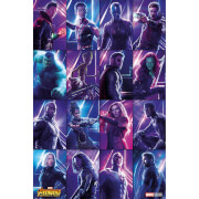 Avengers: Infinity War (Heroes) Maxi Poster