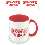 Stranger Things (Logo) Red Inner Mug