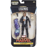 Hasbro Marvel Legends Series Captain Marvel 6-inch Nick Fury Figure
