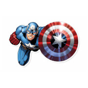 Captain America Shield Bash! Cardboard Cut Out