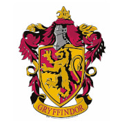 Gryffindor Emblem Cardboard Wall Cut Out Harry Potter Wizarding World
