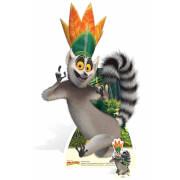 Madagascar - King Julien Lifesize Cardboard Cut Out