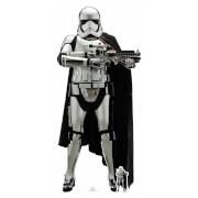 Star Wars : Les Derniers Jedi - Capitaine Phasma Découpe en carton à taille réelle