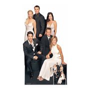 Friends Group Cardboard Cut Out