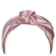 Slip Silk Knot Headband - Pink