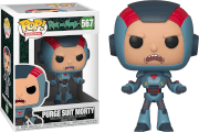 Rick and Morty Morty in Purge Suit Pop! Vinyl Figure