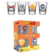 Dragon Ball Z Mix Shot Glasses