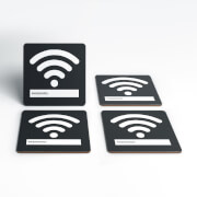 Wifi Password Coaster Set