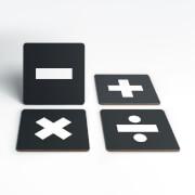 Maths Symbols Coaster Set