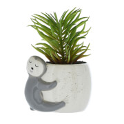 Candlelight Sloth Planter